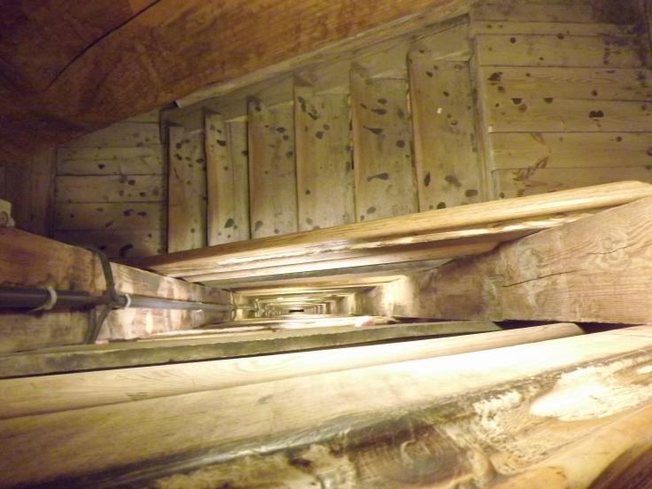 The way down the Salt Mines