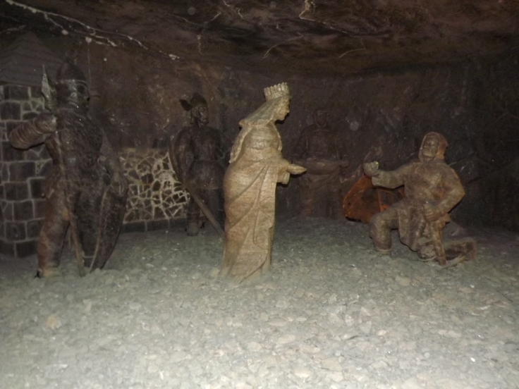Salt Sculpture
