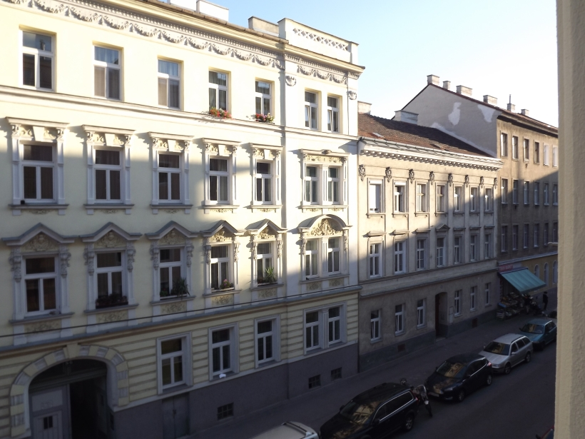 Last glance through my window in Vienna
