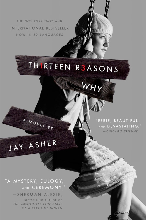 Image result for thirteen reasons why book cover