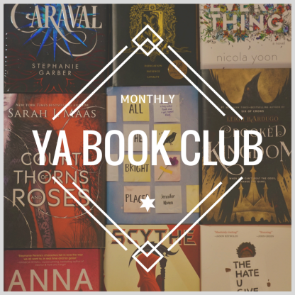 monthly YA book club