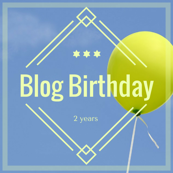 Blog Birthday