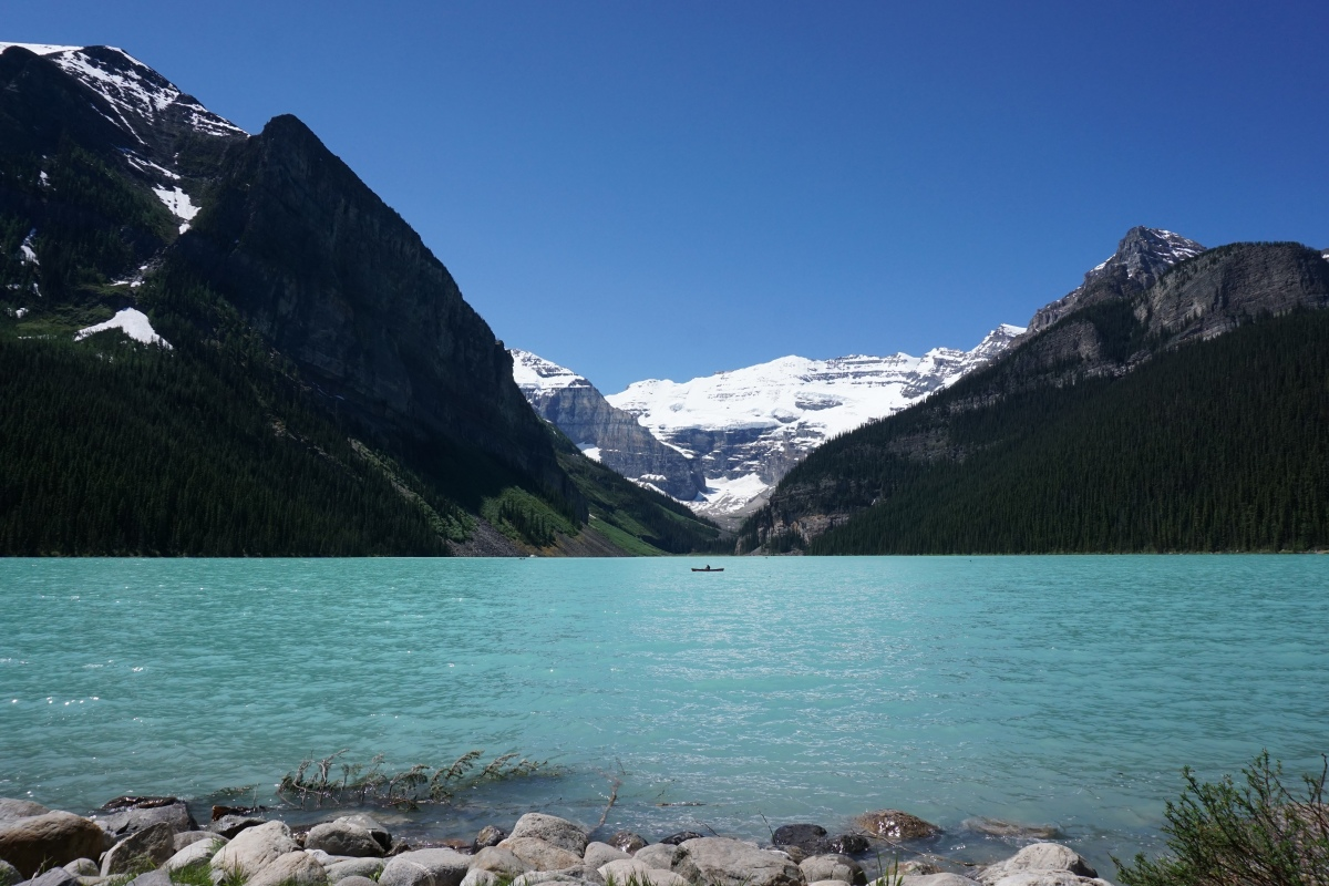 Camping at Lake Louise